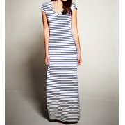 Cosabella RIS7532 CSBLA Rimini Stripe Maxi Dress