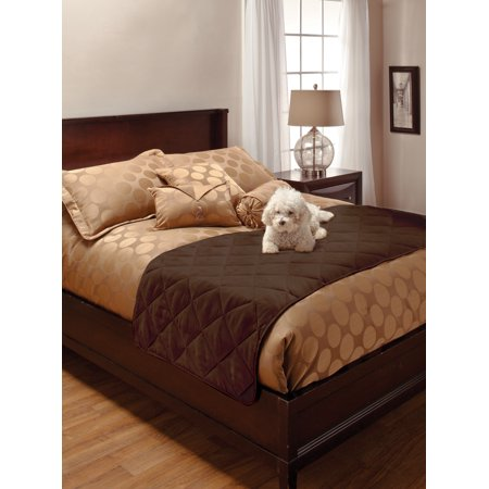 Innovative Textile Solutions Faux Suede King Bed