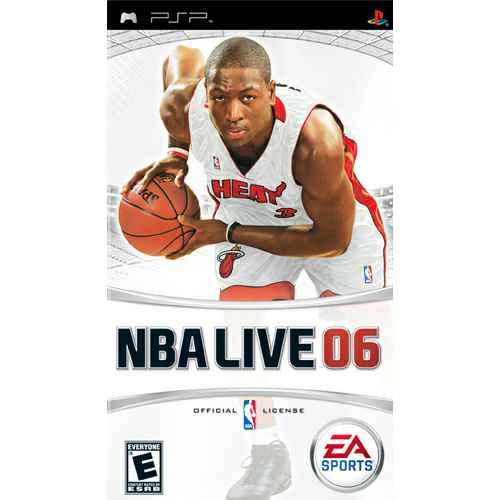 NBA Live 06 - Sony PSP