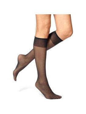 2829a1888 Black No nonsense Womens Socks - Walmart.com