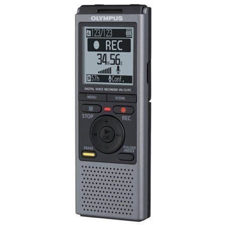 - VN721PC 2GB Digital Voice Recorder, 790 hours of recording time- 2GB memory By Olympus