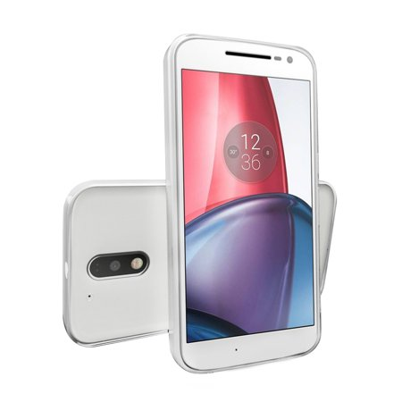 Moto G4 / Moto G4 Plus Case, [Clear] Slim & Flexible Anti-shock Crystal Silicone Protective TPU Gel Skin Case Cover for Motorola Moto G4 / Moto G4 Plus