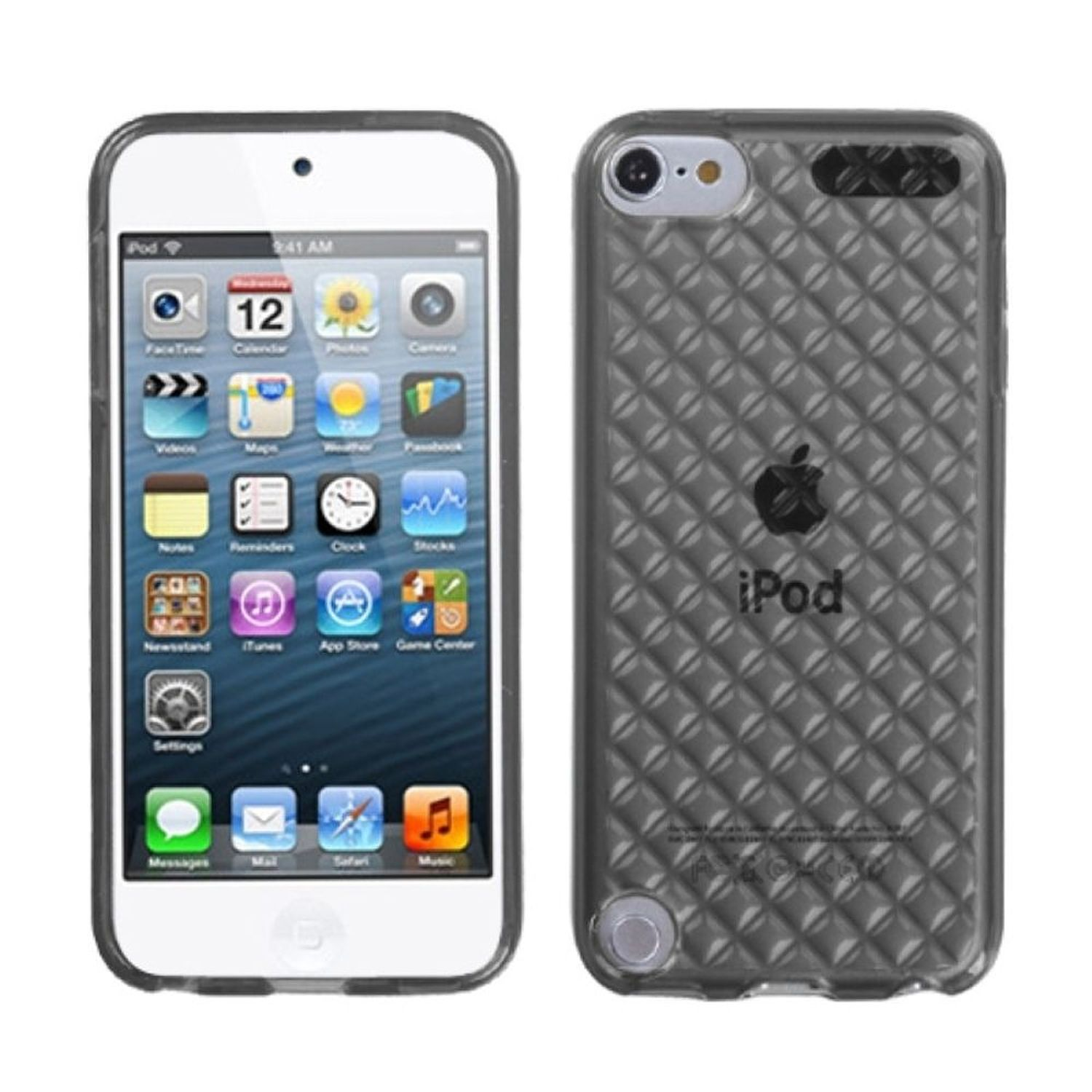 INSTEN Smoke Diamond Candy Skin Cover Case For iPod Touch 6 6th 5 5th Gen