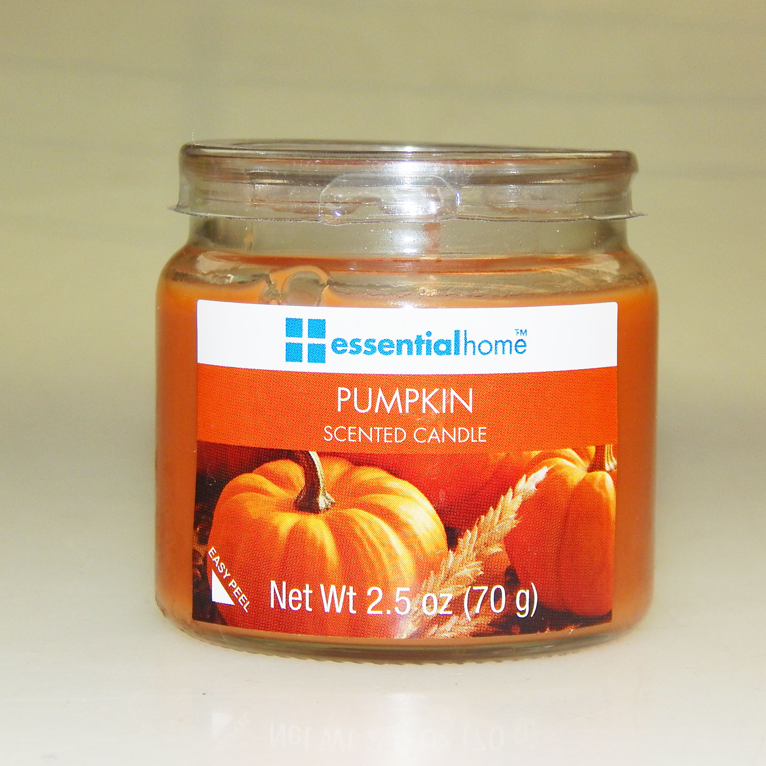 Essential Home Pumpkin Spice Scented Jar Candle 2.5 oz