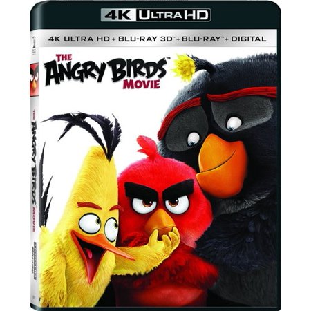 The Angry Birds Movie  4K Ultra Hd   Blu Ray   Blu Ray 3D