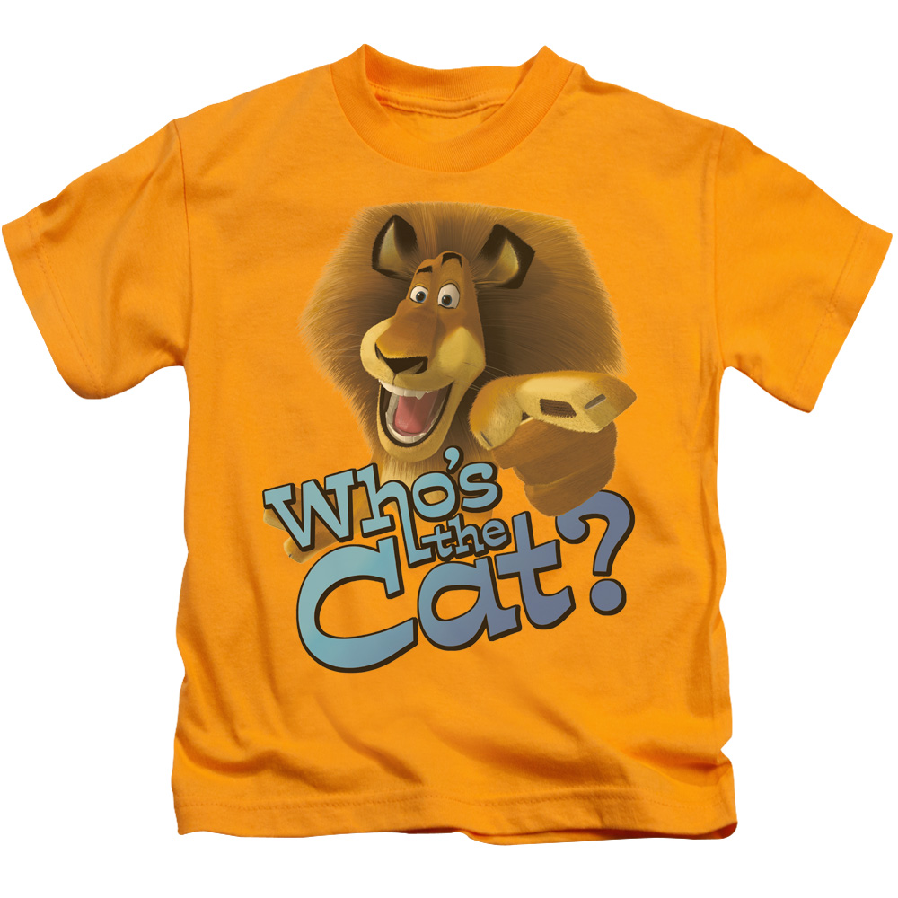 Who's The Cat Little Boys Shirt