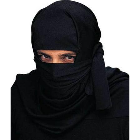 Adult Ninja Headpiece Halloween Costume Accessory - Halloween Headpiece Costume