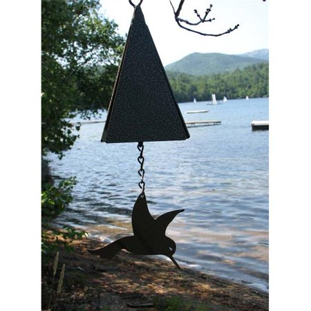 North Country Wind Bells  Inc. 126.5016 Ships Bell with hummingbird wind