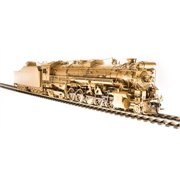Broadway Limited 2832 HO Unlettered Class I-1a 2-10-4 Texas Varnished Brass