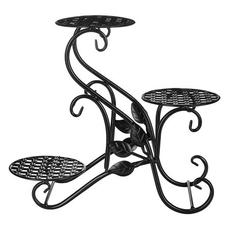 3-Tier Metal Plant Stand Flower Stand Flower Pot Display