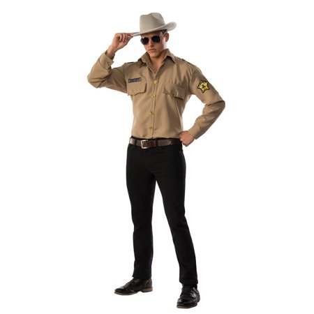 Halloween Sheriff Adult Costume](Sheriff Halloween Costumes)