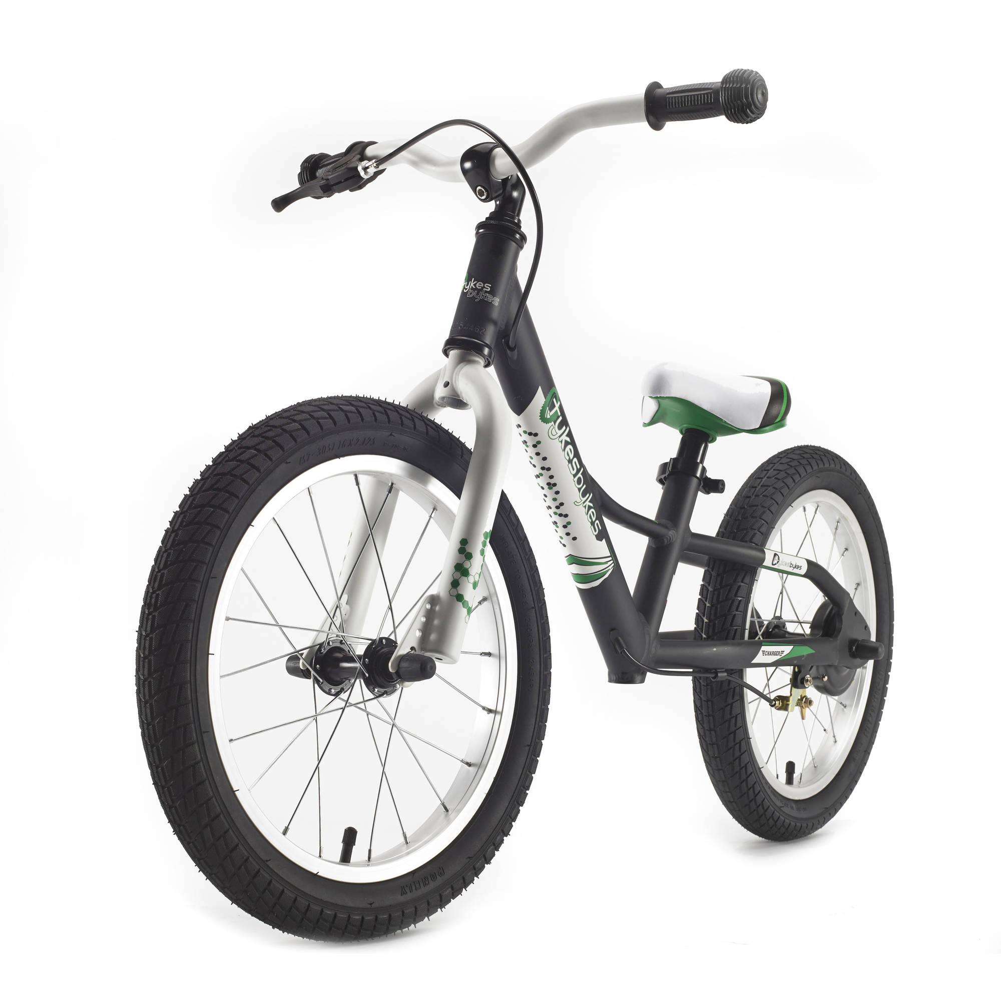 16 Stampede Bikes Charger Balance Bike, Black
