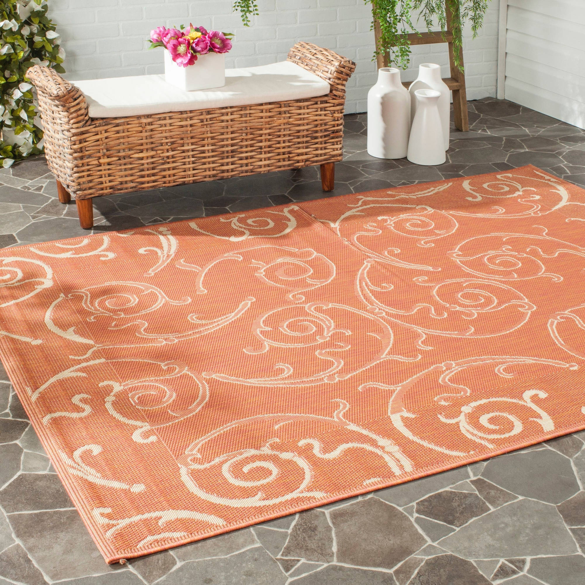 Safavieh Courtyard Daniel Power-Loomed Indoor/Outdoor Area Rug or Runner