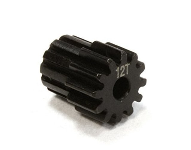 Integy RC Hobby C25887 Billet Machined 12T Pinion Gear for Traxxas LaTrax Rally 1 18 Scale by Integy