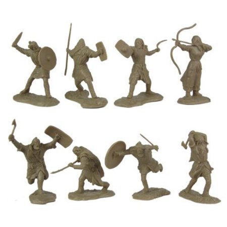 Ancient Barbarian Warriors: 16 piece set of 60mm Figures - 1:30 scale 1 6 Scale Warrior