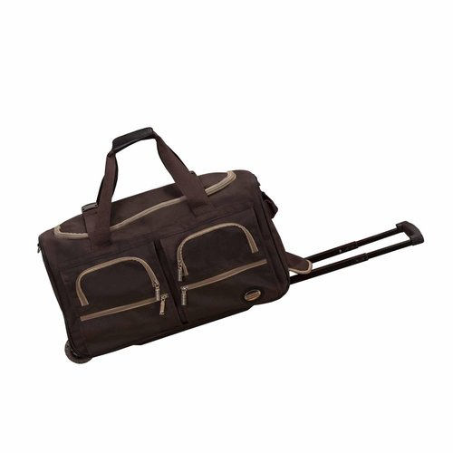 "Rockland Luggage 22"" Rolling Duffle"