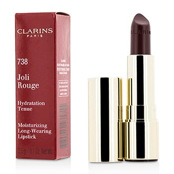 Joli Rouge (Long Wearing Moisturizing Lipstick) - # 738 Royal Plum 0.1oz