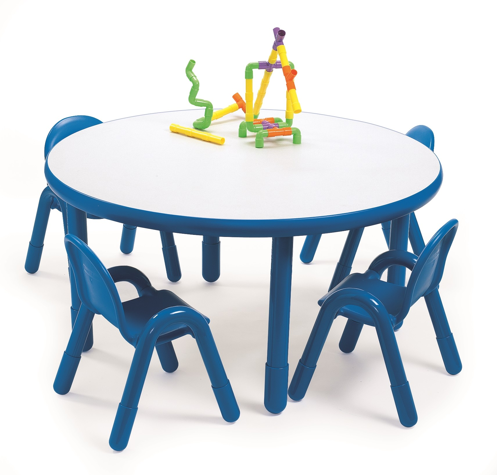 Angeles Round Baseline Preschool Table and Chair Set in Royal Blue    Walmart comAngeles Round Baseline Preschool Table and Chair Set in Royal Blue  . Preschool Chairs Free Shipping. Home Design Ideas