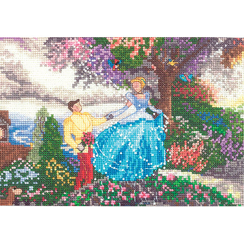 "Disney Dreams Collection By Thomas Kinkade Cinderella, 7"" x 5"""