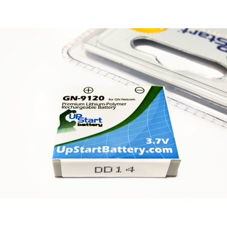2x Pack - GN Netcom 14151-01 Battery - Replacement for GN Netcom Wireless Headset Battery (270mAh, 3.7V, Lithium Polymer) - image 1 de 3