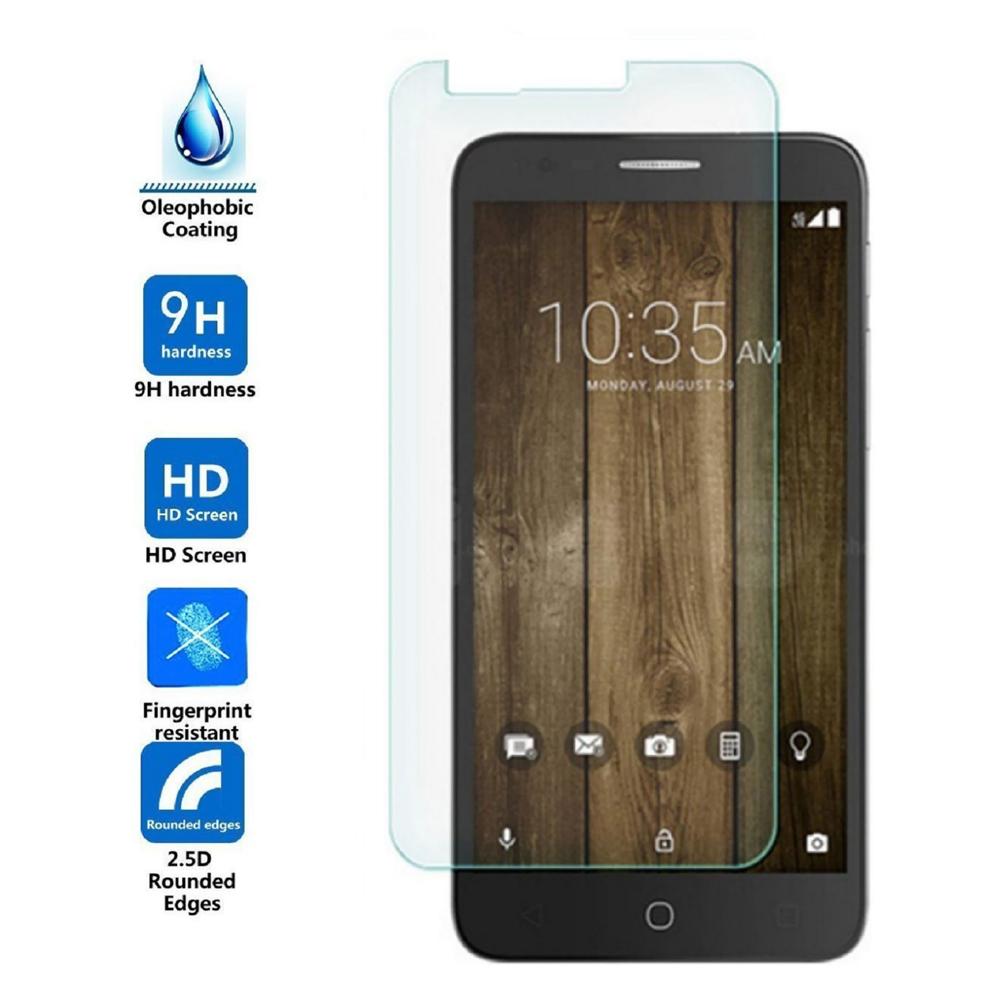 Arc® Alcatel OneTouch Fierce 4; Allura; Pop 4 Plus Tempered Glass Screen Protector
