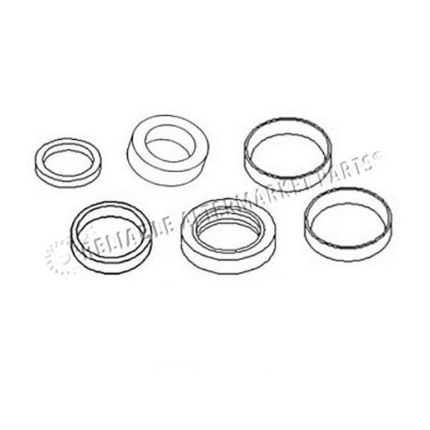 2438U1132R300 Kobelco Excavator Arm Cylinder Seal Kit