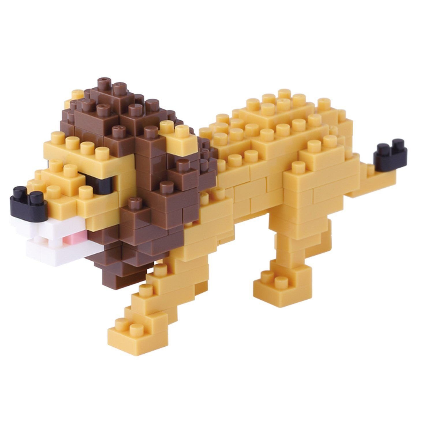 Lion Mini Building Set by Nanoblock (NBC170) by nanoblock