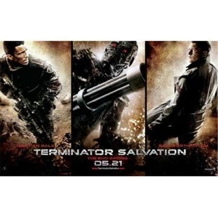 Posterazzi MOV455549 Terminator Salvation - Style H Movie Poster - 17 x 11 in. - image 1 de 1