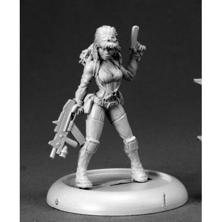Reaper Miniatures Farrah, Sci Fi Heroine #50238 Chronoscope D&D RPG Mini Figure Build Sci Fi Model