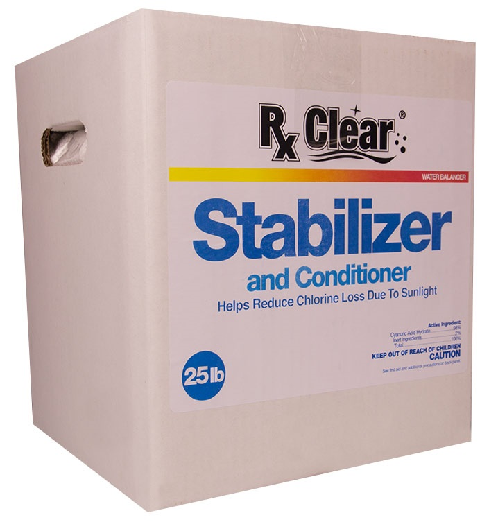 Rx Clear Swimming Pool Conditioner/Stabilizer (Various Sizes)
