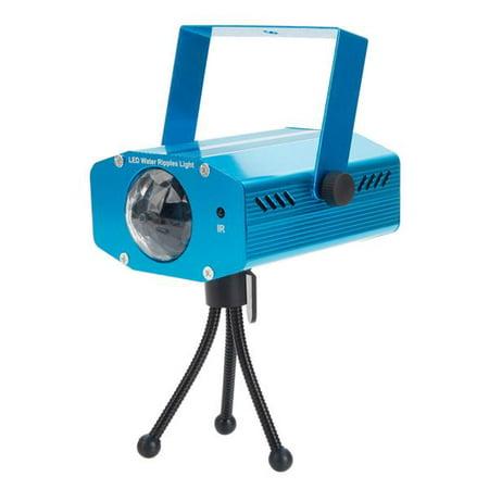 9W 3-RGB LED Auto / Voice Control / Flash Ocean Wave Stage Bar Lamp (AC 85-265V) Blue ()