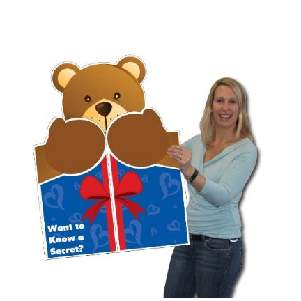 2x3 giant bear hug greeting card wenvelope walmart 2x3 giant bear hug greeting card wenvelope m4hsunfo