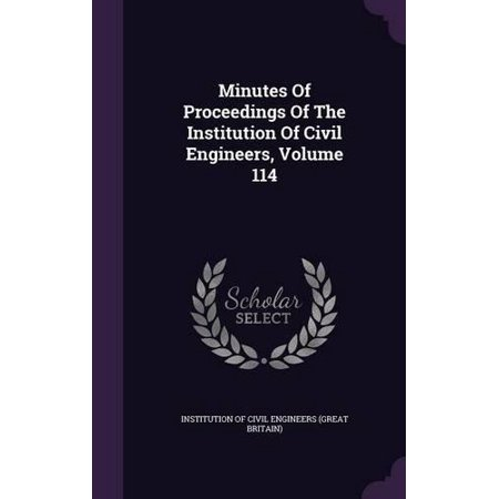 Minutes of Proceedings of the Institution of Civil Engineers, Volume 114 - image 1 de 1