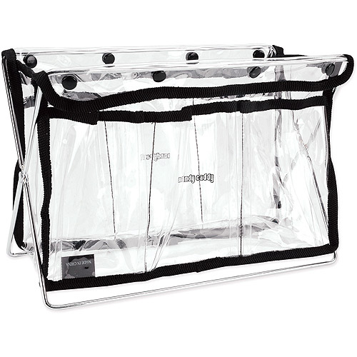 Handy Caddy, Clear with Black Trim