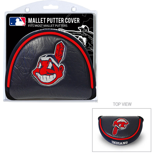 Team Golf MLB Cleveland Indians Golf Mallet Putter Cover by Generic