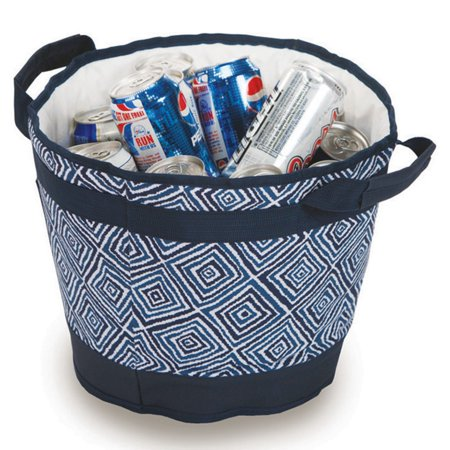 Picnic Plus Austin 18 Can Ice Bucket - Blue Diamond