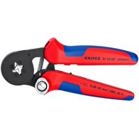 KNIPEX Tools 97 53 04 Self-Adjusting Crimping Pliers for End Sleeves