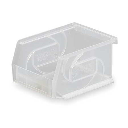 Lewisbins+ Fiberglass Containers (Lewisbins 15 Lb Capacity, Hang and Stack Bin, Clear PB54-3)