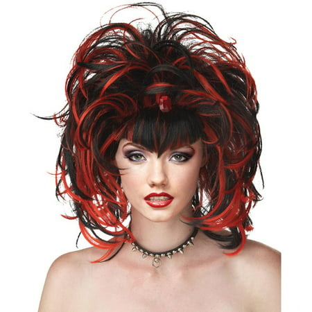Evil Sorceress Adult Halloween Wig](Halloween Wigs Black And White)