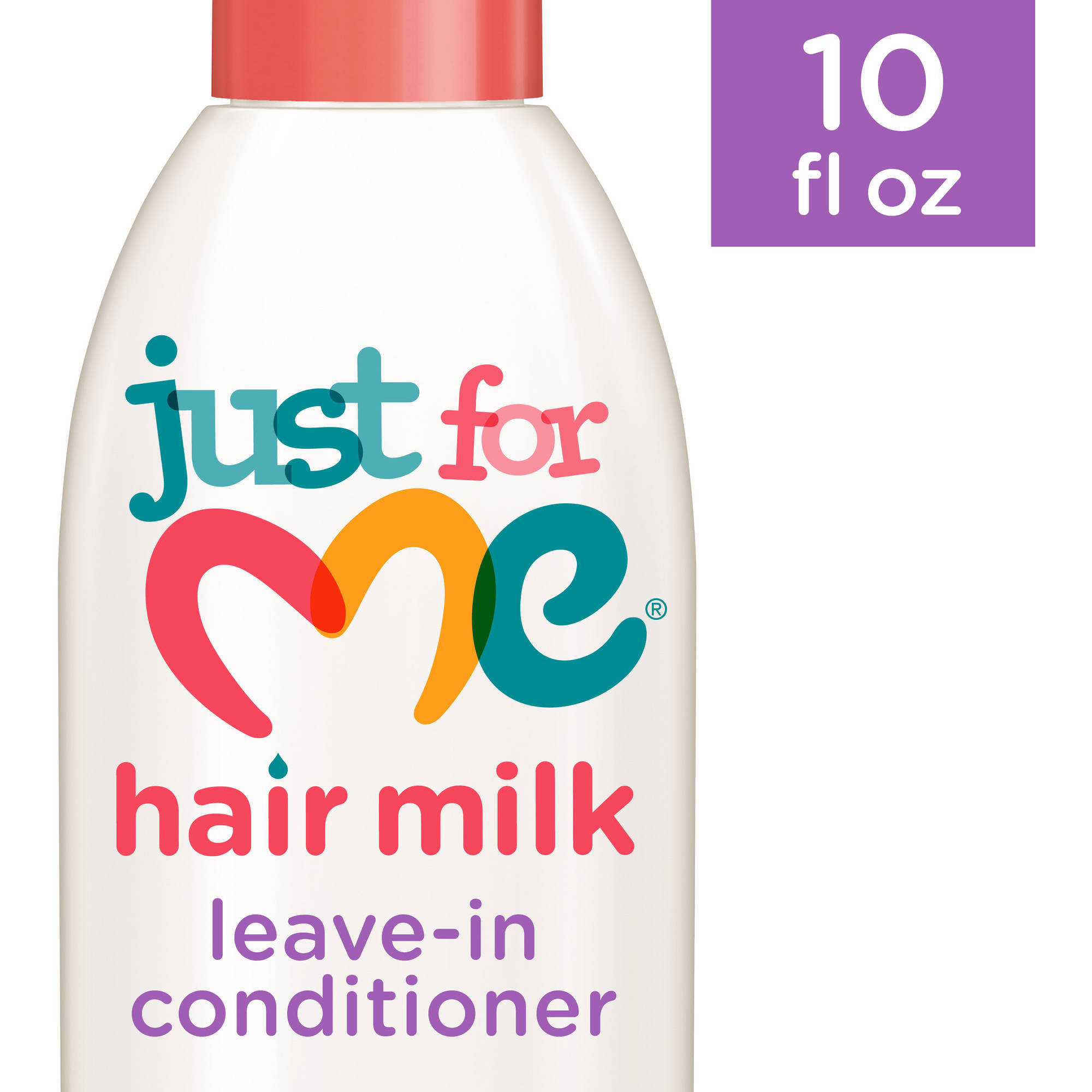 Just For Me Hair Milk Hydrate and Protect Leave In Conditioner, 10 oz
