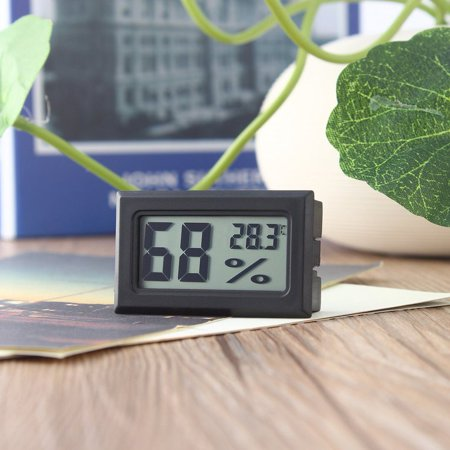 Best Mini Digital LCD Thermometer Hygrometer Humidity Temperature Meter Indoor deal