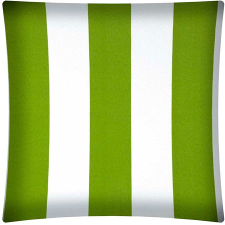 CABANA LARGE Green Indoor/Outdoor - Zippered Pillow Covers (Set of 2)