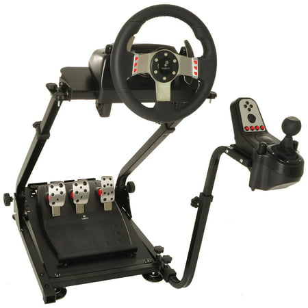 Gaming Gear (Conquer Racing Simulator Cockpit Driving Gaming Wheel Stand and Gear Shifter Mount )