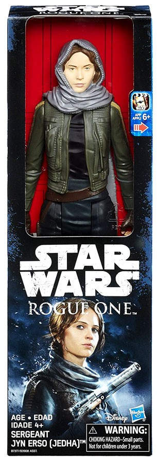 """Rogue One Chief Actress Jyn Erso 1//6 scale Head Sculpt Carving Fit 12/"""" Figure"""