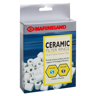 Aquatics Marineland PA11484 Ceramic Filter Ring, Multicolor, Rite-Size S and T, 140/Pack