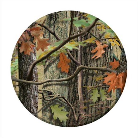 Sq Accent Plate - Creative Converting 415676 Hunting Camo - 7 In. Lunch Plates - Case of 96