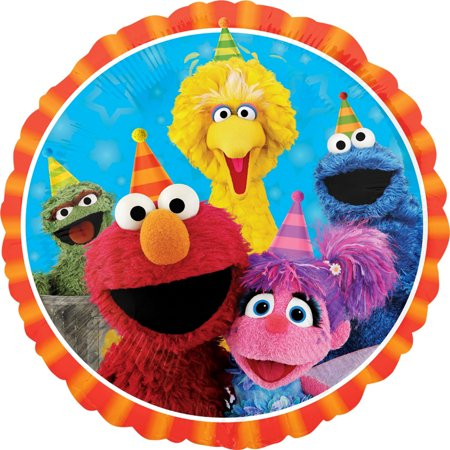 Elmo Sesame Street and Friends Foil Balloon 18