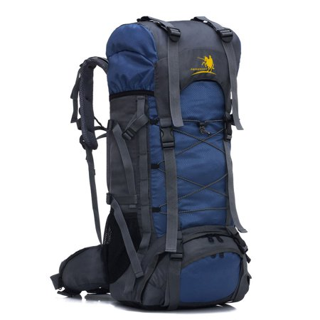 66f5b83a28db Ktaxon 60L Waterproof Hiking Backpack - Rucksack Backpack