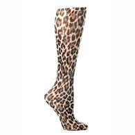 Celeste Stein CMPS 8-15mmHg Hairy Leopard Therapeutic Compression Sock