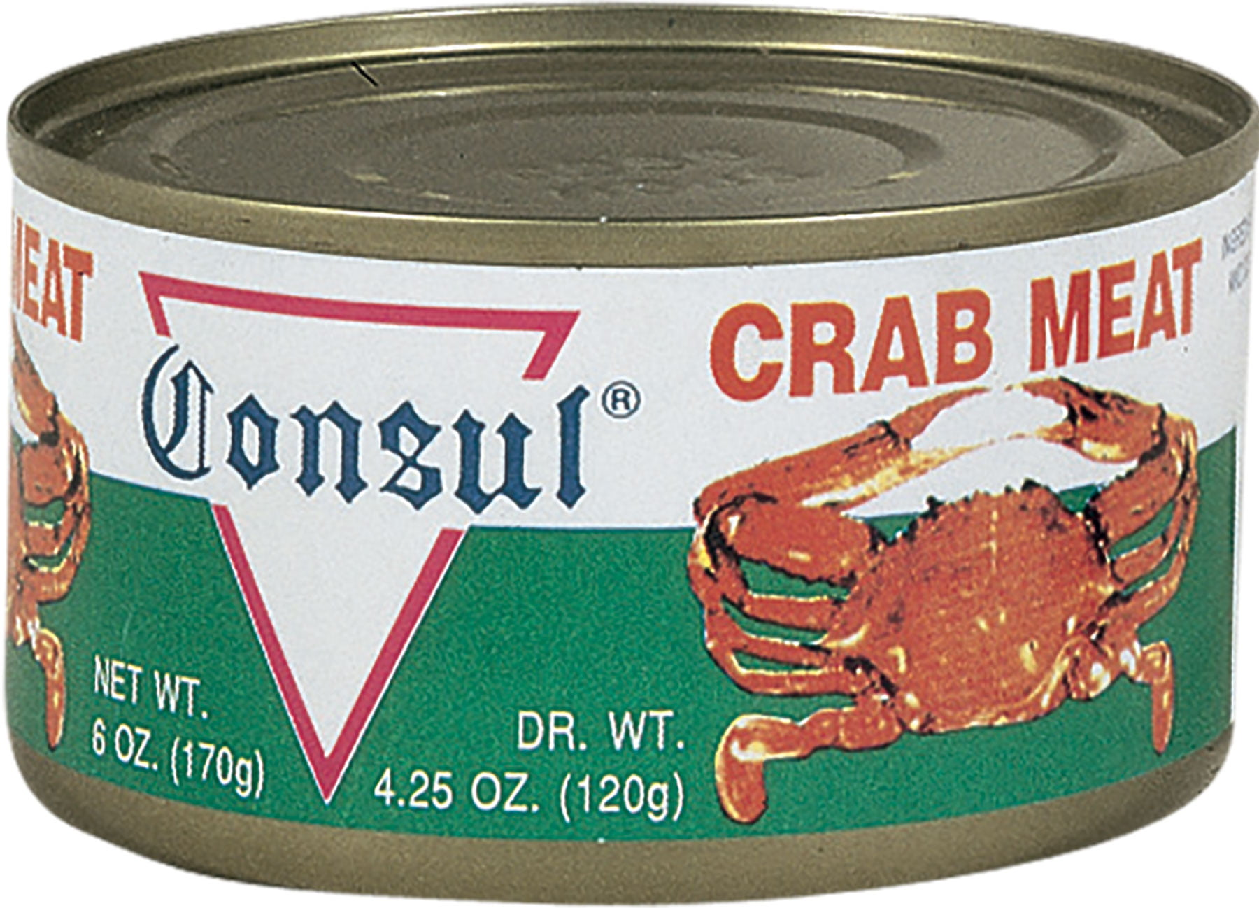 Consul Canned Crab Meat, 6 Oz by Roland Corporation